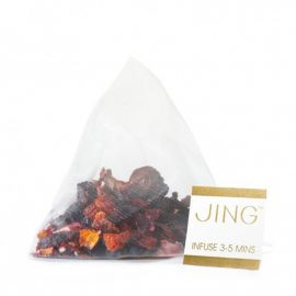 JING Blackcurrant & Hibiscus Tea Bags 100 Pcs