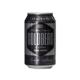 Goldberg Soda Water 330ml x 24