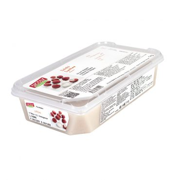 Sicoly Frozen Unsweetened Lychee Puree 1kg/Tub
