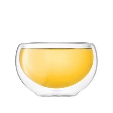 JING Double Wall Glass Cup 80ml