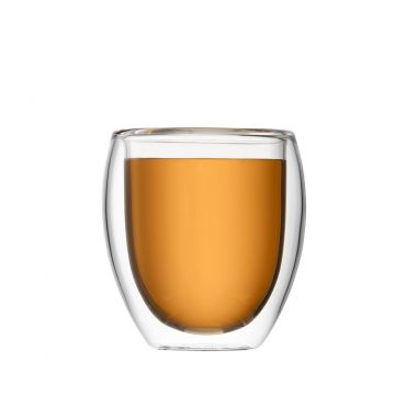 JING Double Wall Glass Cup 200ml
