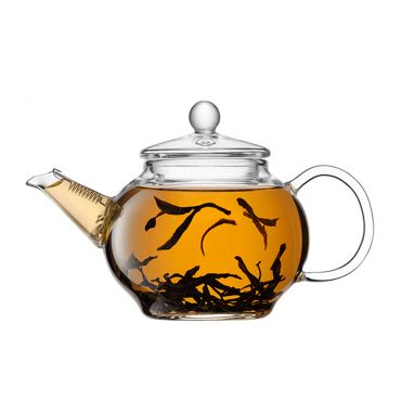 JING Glass Teapot For One-Cup 250ml