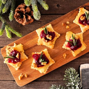 Cranberries & Baked Brie