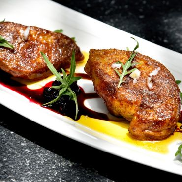 Pan-Seared Duck Liver
